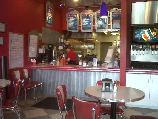 Nate's Diner Interior