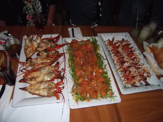 Oceano Palace: Our catch of the day meal