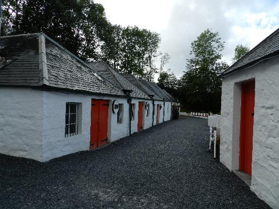 Edradour Distillery: The mix-match of out buildings.