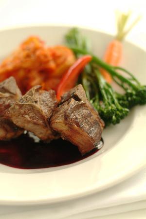 Ric's Grill: New Zealand Lamb