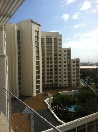 โรงแรมโพรทีโฮเต็ลนอร์ธวาร์ฟ: View from the room