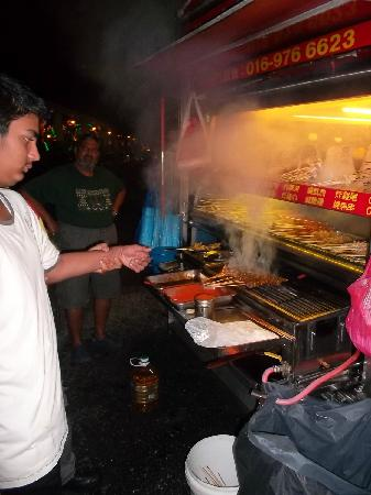 Fat Boy Steamboat: letting the tourist do some cooking