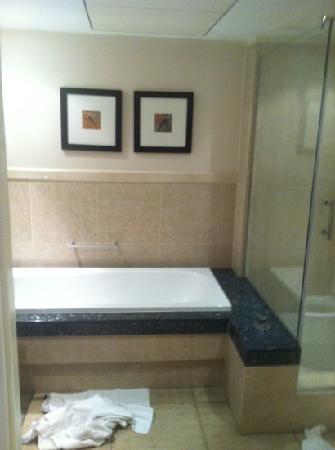โรงแรมโพรทีโฮเต็ลนอร์ธวาร์ฟ: bathroom