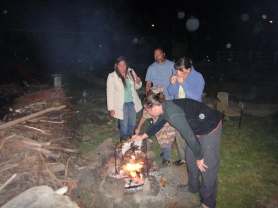 Cabanas Pikera Uri: en las cabañas