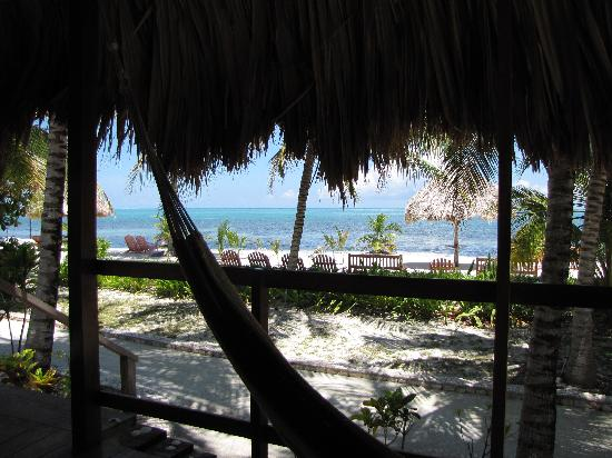 St. George's Caye Resort: porch view