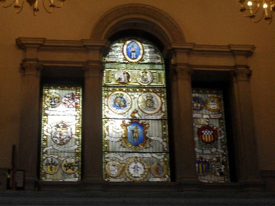 Massachusetts State House: Glasfenster