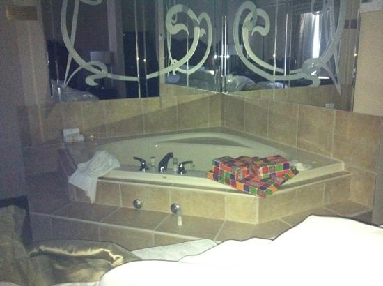 Monte Carlo Inn & Suites Downtown Markham: jacuzzi tub...so relaxing!