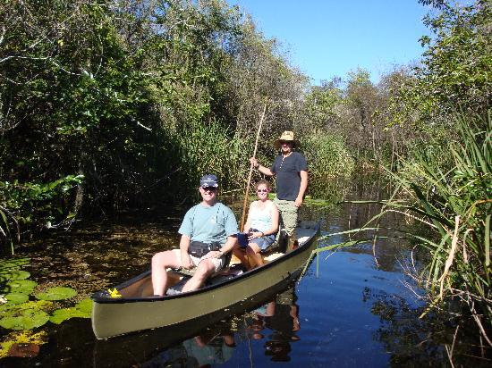 Everglades Adventure Tours: traveling the swamp in a poled skiff