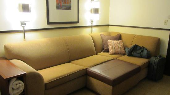 Hyatt Place Dallas-North: sitting area