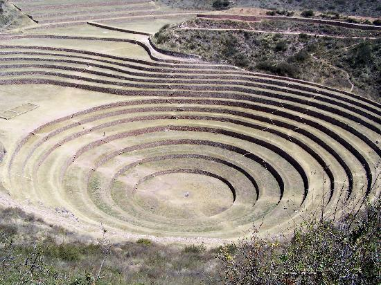 The Green House Peru: Moray Crop Circles