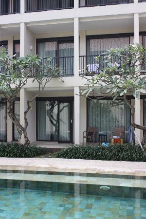 The Camakila Legian Bali: Ground room outside