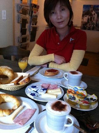 Hotel Gerig: nice breakfast