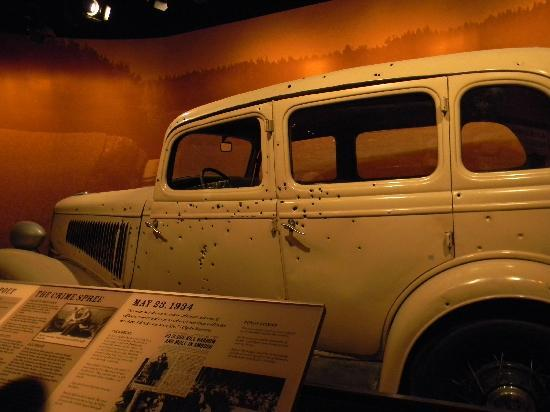 Bonnie And Clyde Car Location: Car From Bonnie And Clyde Movie