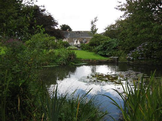 The Old Rectory Hotel: Lovely pond and gardens