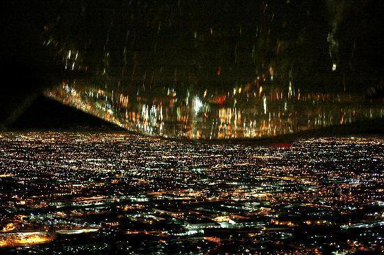 Night Flite Plan - KinghtFlite: 飛行機からの景色1