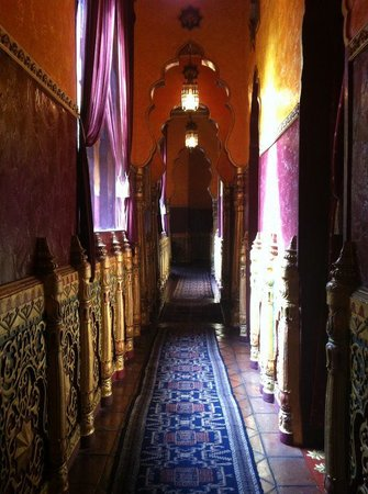Prana Spa : Will never forget these beautiful corridors.