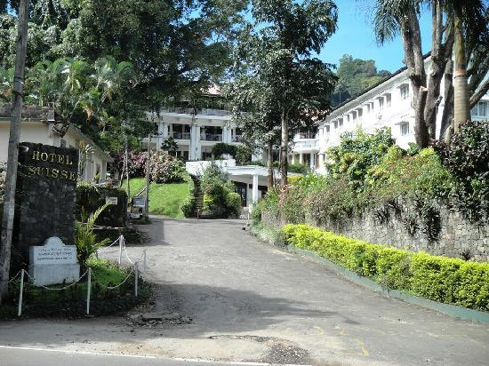 โรงแรม ซุยส์ซี่: Entrance