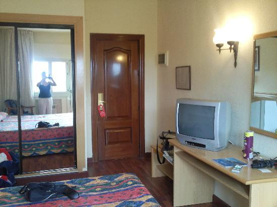 Hotel Best Siroco: Our room