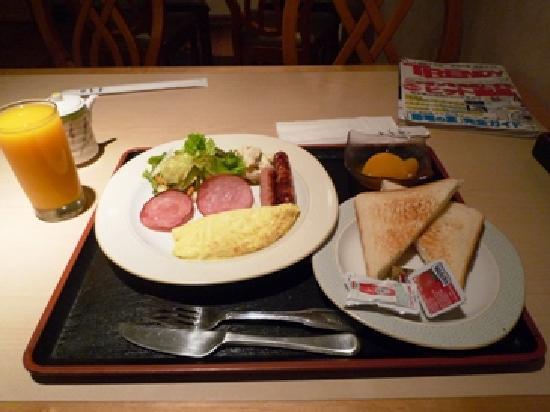 Redac Gateway Hotel: アメリカンスタイルの朝食の場合