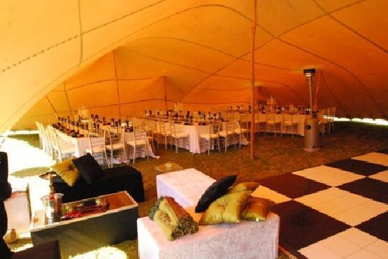 Thunzi Bush Lodge: Tent Decor