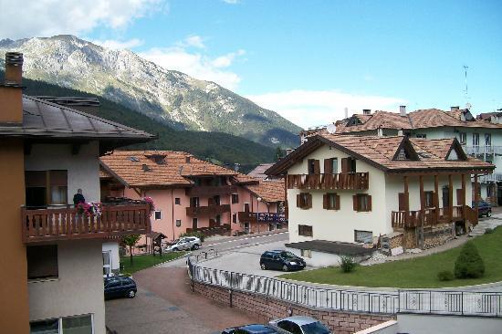 Hotel Paganella: vista dalla camera