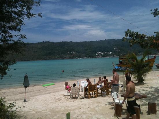 Phi Phi Good View: Private beach