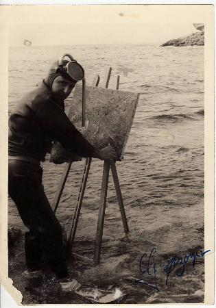 Musee Extraordinaire : Georges Mazoyer, the artist at work!