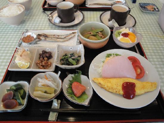 Pension Birao: 朝食