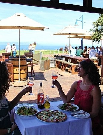 Paradiso Restaurant: :) Cheers! We really enjoyed taking an after lunch stroll with the whales just meters away from