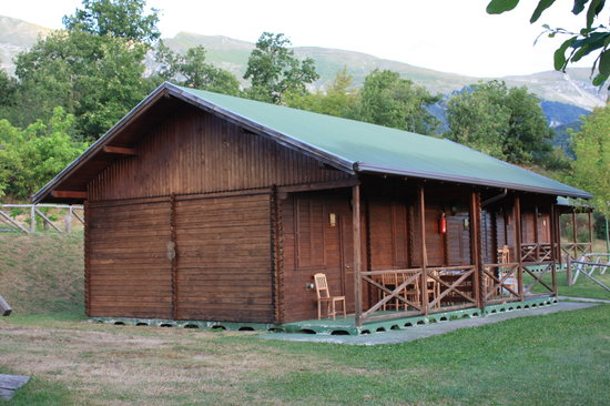 Camping Vettore: Bungalow