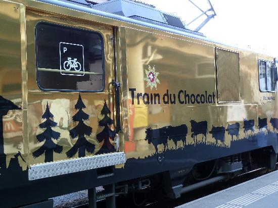 Swiss Chocolate Train: Choccy Train