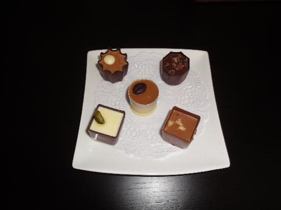 The Hide London: yummy chocolates - the treat