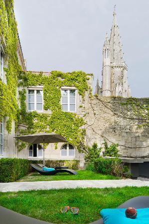 La Monnaie Art & Spa Hotel Luxe: Jardin