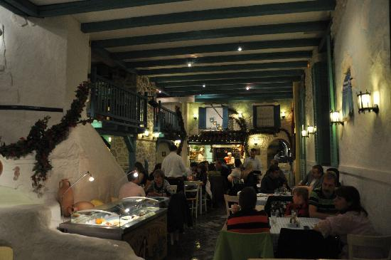 Dinner at Taverna Dionysos