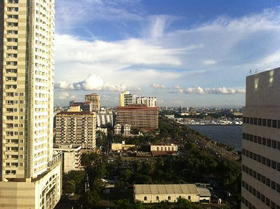 Diamond Hotel Philippines: View from the 21st floor