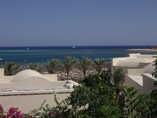 Jaz Belvedere: Sea view from the balcony of our room