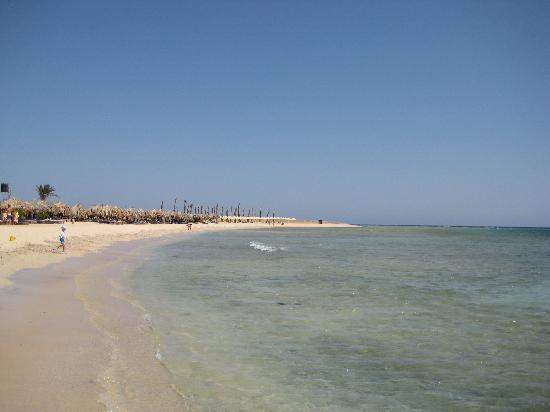 ฮิลตันมาซาอลัมนูเบียนรีสอร์ท: la spiaggia di Abu Dabaad