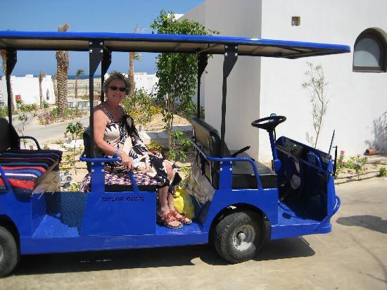 ฮิลตันมาซาอลัมนูเบียนรีสอร์ท: il trenino per la spiaggia