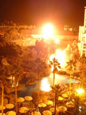 โรงแรมล็อตเต้ เชจู: 火山ショー