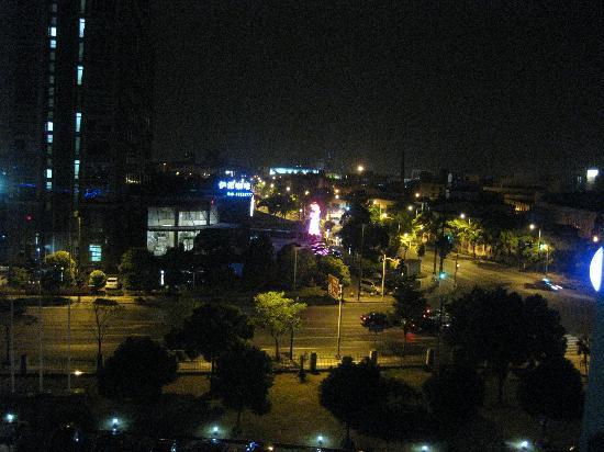 โรงแรมบลูพาเลซ: View from hotel