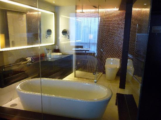 โรงแรมเรอเนสซองซ์ ปักกิ่ง แคพปิตอล: Bathroom