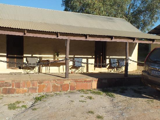 Murchison House Station: Sheep shearers quarters