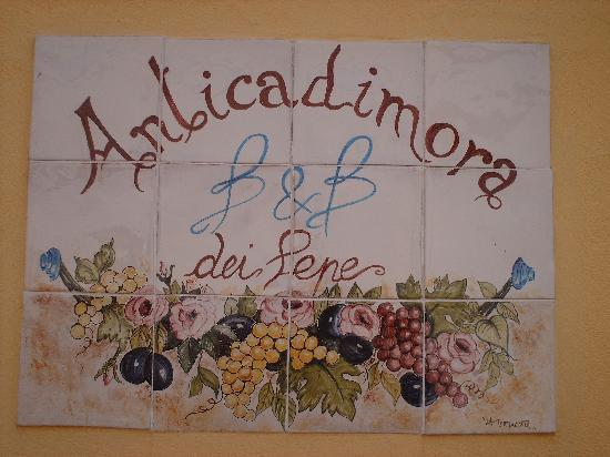B&B Anticadimora dei Pepe: antica dimora pepe