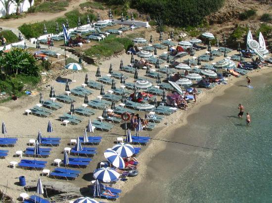 Villa Vasilis: Пляж 10 мин от виллы Василис