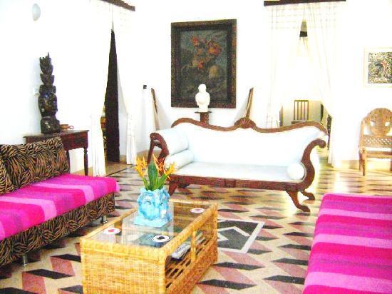 Hotel Soraya: Main Villa, Lounge