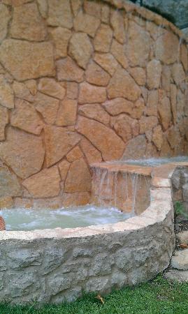 Monaco Hotel: fuente piscina, de las pocas cosas bonitas del hotel