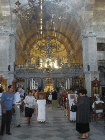 Panayia Ekatondapiliani Cathedral : Inside view of Ekatontapillani