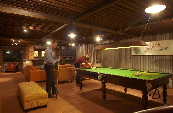 The Mudgee Homestead Guesthouse: Fabulous Billiard Lounge
