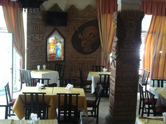 Hotel Casablanca: مطعم فندق الدار البيضاء