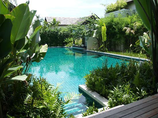 อนันตรา ลาวาน่า รีสอร์ท แอนด์ สปา: プールアクセスルームサラからの風景